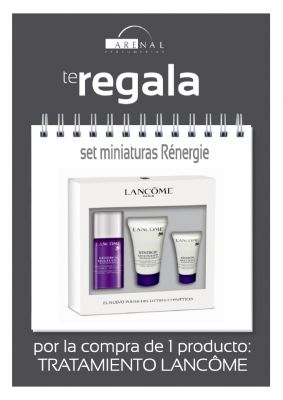 REGALO* SET MINIATURAS LANCÔME