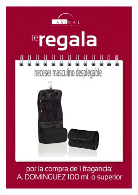 REGALO* NECESER DESPLEGABLE AD