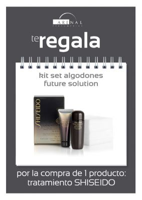 REGALO* SHISEIDO KIT SET ALGODONES