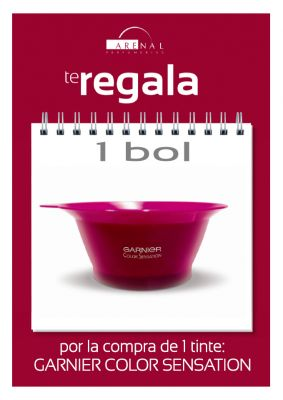 REGALO* BOL TINTE GARNIER COLOR SENSATION