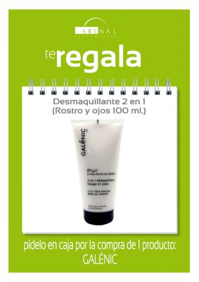 Regalo* desmaquillante Galénic 100 ml.