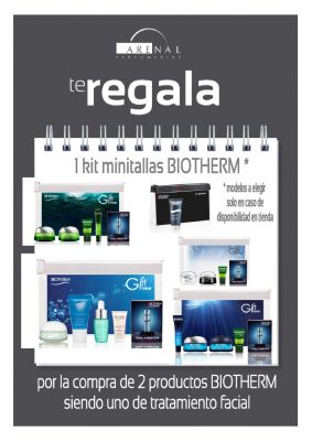 REGALO* KIT MINITALLAS BIOTHERM