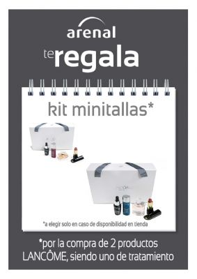 REGALO* KIT MINITALLAS LANCÔME