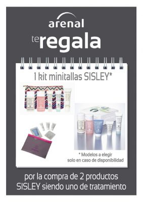 Regalo kit minitallas Sisley