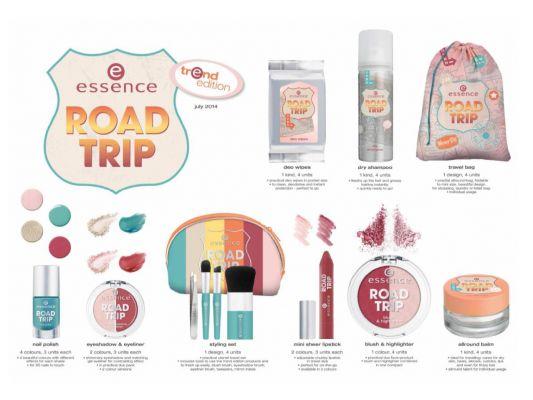 Novedad moda Essence: Road Trip