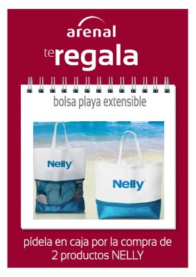 Regalo bolsa playa extensible