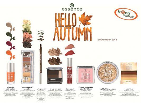 Novedad moda Essence: Hello autumn