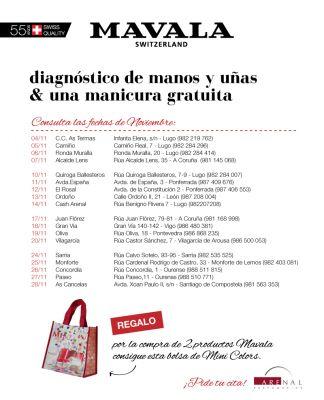 Diagnóstico de manos y uñas + manicura gratuita.