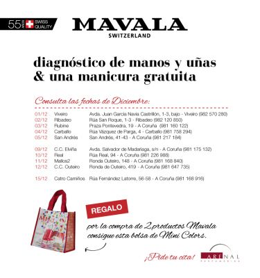 Diagnóstico de manos y uñas + manicura gratuita. Diciembre.