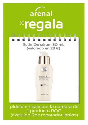 Regalo Retin-Ox 30 ml. Valorado en 28 Euros.