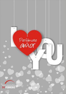San Valentín, perfúmate de amor desde 3,25 €.