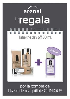 Regalo Clinique: Take the day 30 ml.