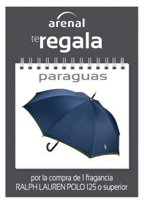 Regalo paraguas Ralph Lauren.