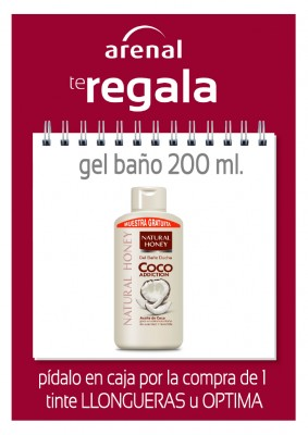 Regalo gel Natural Honey.