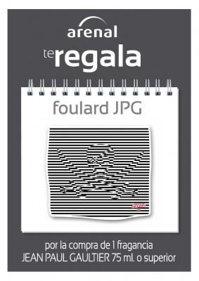 Regalo foulard Jean Paul Gaultier.