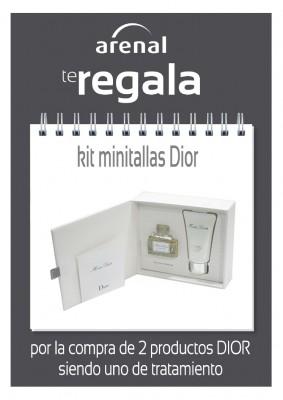 Regalo kit minitallas Dior.