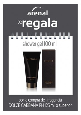 Regalo gel Dolce Gabbana 100 ml.