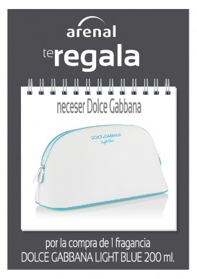 Regalo neceser Dolce Gabbana.