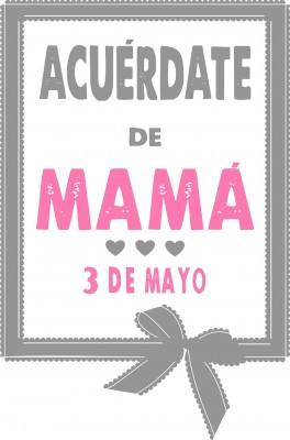Especial día de la madre 2015.