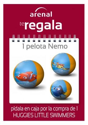 Regalo pelota Nemo.