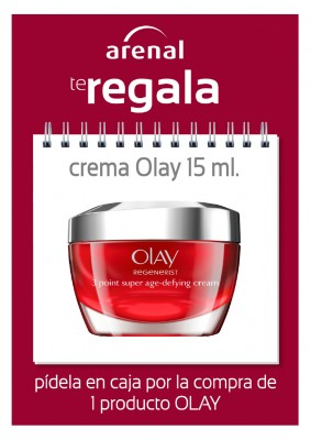 Regalo crema Olay 15 ml.