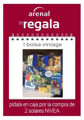 Regalo bolsa vintage Nivea.