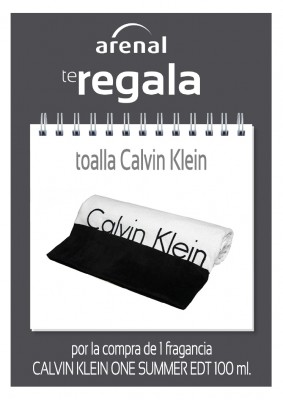 Regalo toalla Calvin Klein.