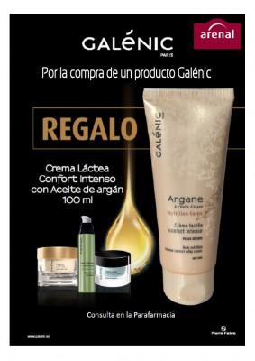 Regalo crème lactée Galénic 100 ml.