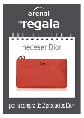 Regalo neceser Dior.