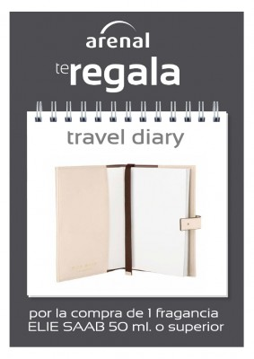 Regalo travel diary Eliee Saab.