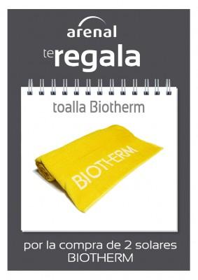 Regalo toalla Biotherm.