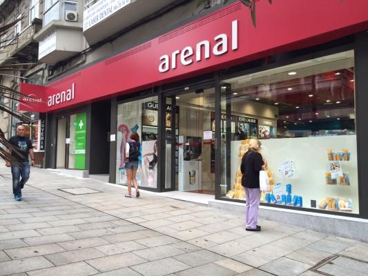 Nueva tienda Arenal en Vigo