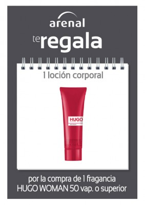 Regalo body Hugo Woman