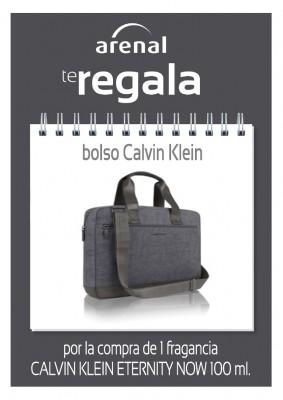 Regalo bolso Calvin Klein Now.