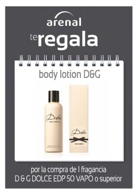 Regalo Body Lotion D & G.