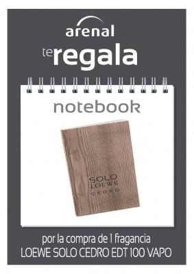 Regalo notebook Loewe.
