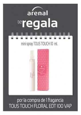 Regalo mini spray Tous 10 ml.