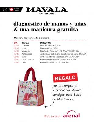 Diagnóstico de tus manos y uñas + una manicura gratuita. Diciembre.