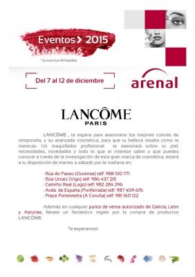 Eventos alta perfumería: del 7 al 12 de diciembre.
