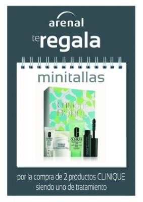 Regalo minitallas Clinique.