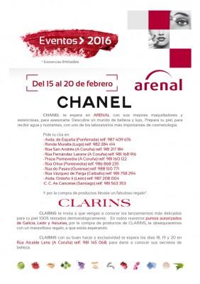 Eventos alta perfumería del 15 al 20 de febrero.