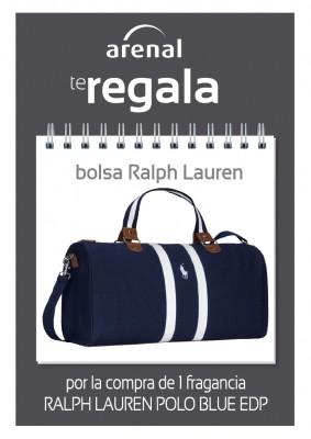 Gratis bolsa viaje Ralph Lauren.