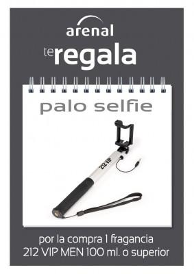 Regalo palo selfie 212 VIP.