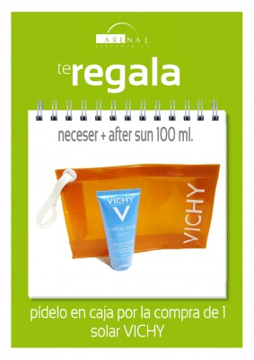 Regalo neceser + after sun Vichy.