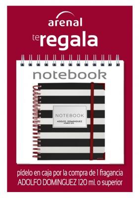 Regalo notebook A. Dominguez.