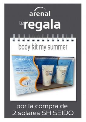 Regalo My Summer Body Kit Shiseido.