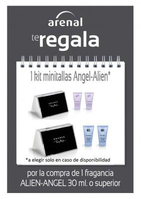 Regalo kit minitallas Alien/Angel.