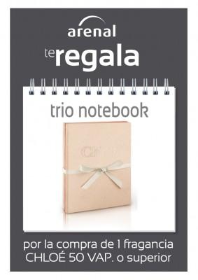 Regalo trio notebook Chloé.