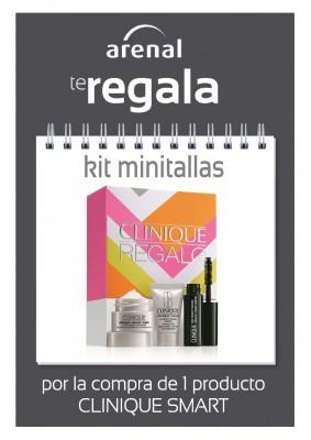 Regalo kit minitallas Clinique.
