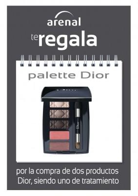 Regalo palette Dior.